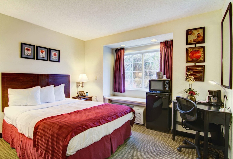 Jacksonville Plaza Hotel & Suites Airport, Jacksonville, Chambre Standard, 1 grand lit, Chambre