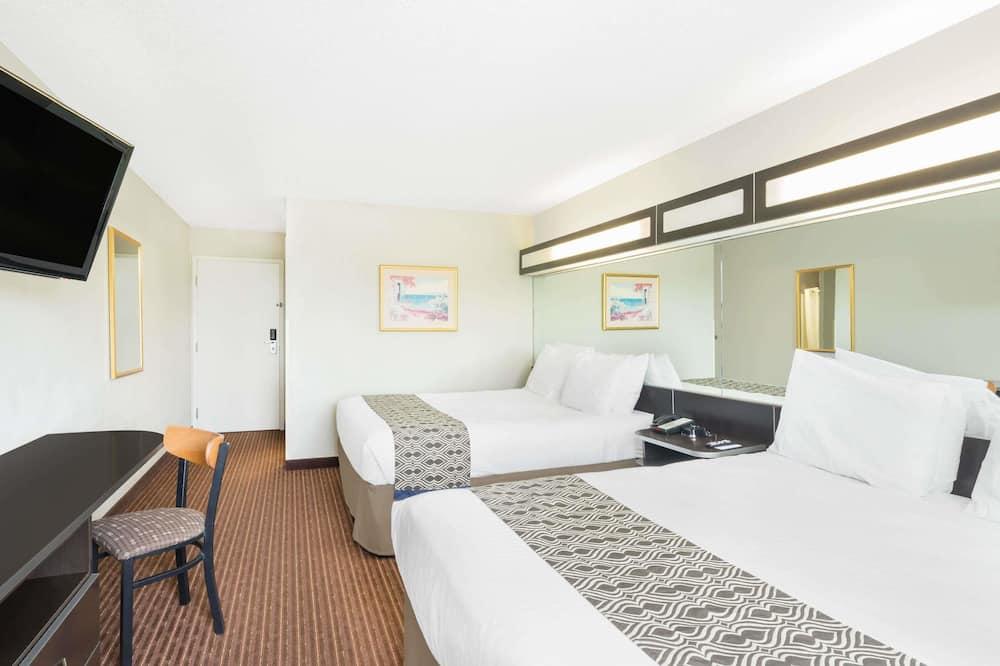 غرفة عادية - سريران كبيران - غرفة نزلاء