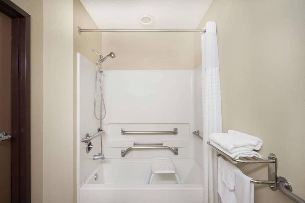 غرفة - تجهيزات لذوي الاحتياجات الخاصة - حمّام