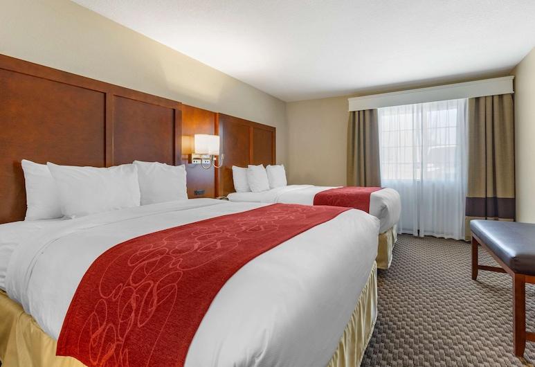 Comfort Suites Phoenix Airport, טמפה, סוויטה, ללא עישון, מיקרוגל (2 Queen Beds, Sofa, Accessible), חדר אורחים