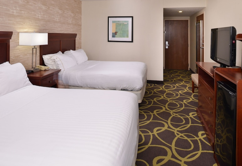 Holiday Inn Express Hotel Dayton-Huber Heights, Dayton, Rum - 2 queensize-sängar - icke-rökare, Gästrum