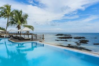 Foto van Fisherman's Cove resort in Mahe