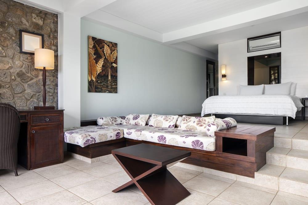 Suite Deluxe, fronte mare - Area soggiorno