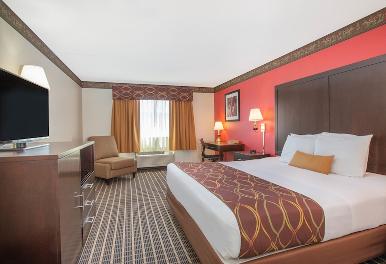 Ramada Limited Redding, Redding, Room, 1 King Bed, Non Smoking, Guest Room