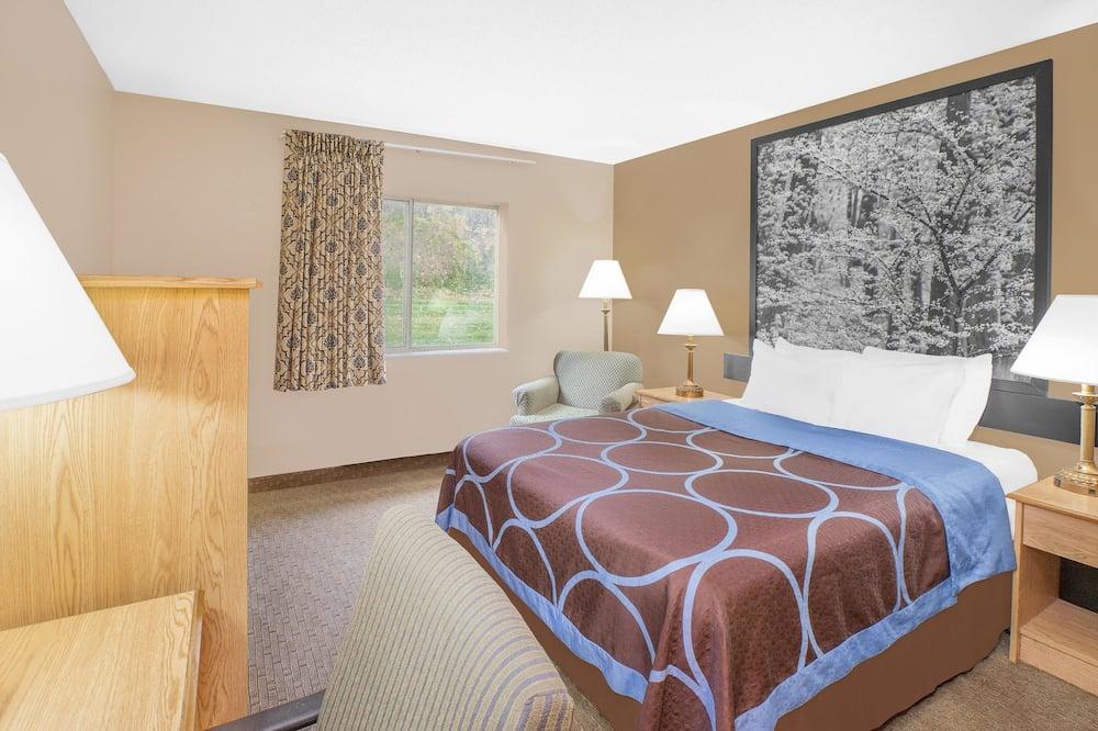 套房, 1 張加大雙人床, 非吸煙房 (One-Bedroom) - 客房