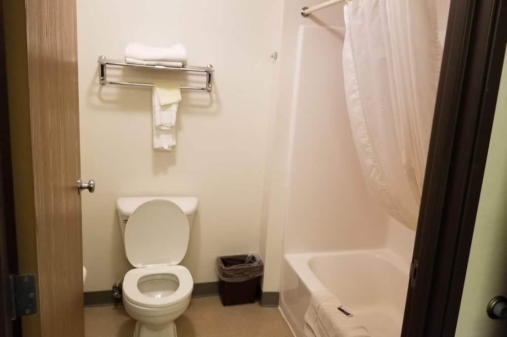 Standard tuba, 1 ülilai voodi ja diivanvoodi, suitsetamine keelatud - Vannituba