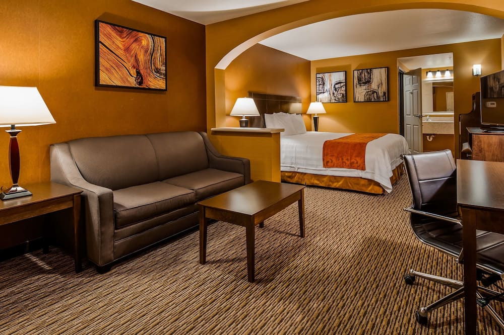 Suite, 1 King Bed, Non Smoking, Refrigerator & Microwave - Guest Room
