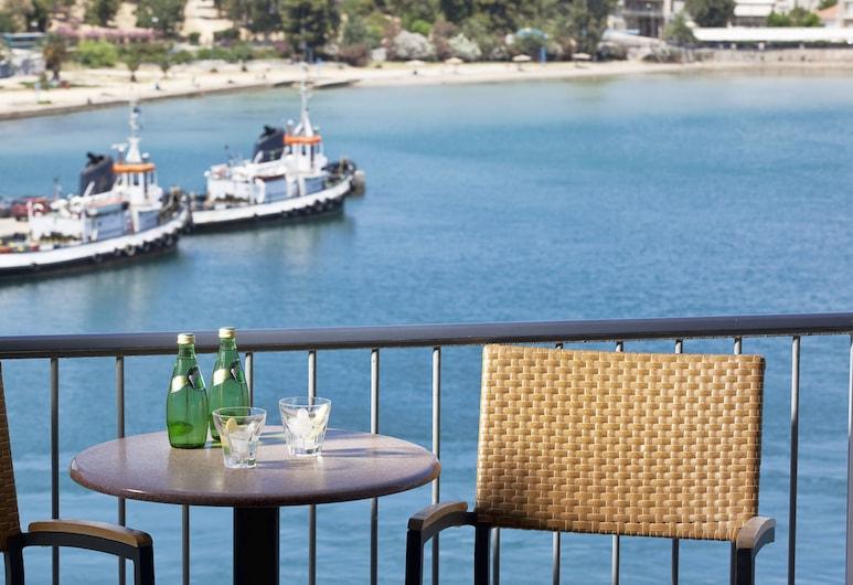 Lucy Hotel, Chalcis, Habitación clásica con 2 camas individuales, vista al mar, Balcón