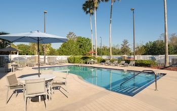 Nuotrauka: Holiday Inn Express Orlando International Airport, Orlandas
