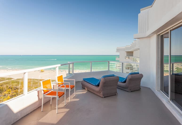Marriott Stanton South Beach, Miami Beach, Room, 1 King Bed, Balcony, View, Guest Room