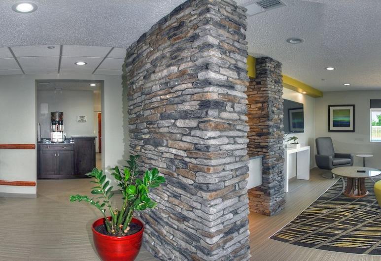 Quality Inn & Suites, Staunton, Infrastruktura wewnętrzna hotelu
