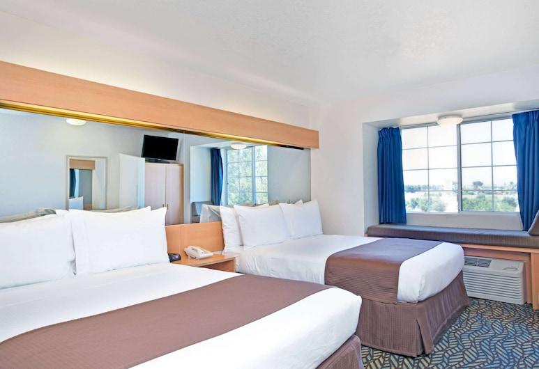 Microtel Inn & Suites by Wyndham Morgan Hill/San Jose Area, Morgan Hill, Pokój standardowy, 2 łóżka queen, przystosowanie dla niepełnosprawnych, Pokój