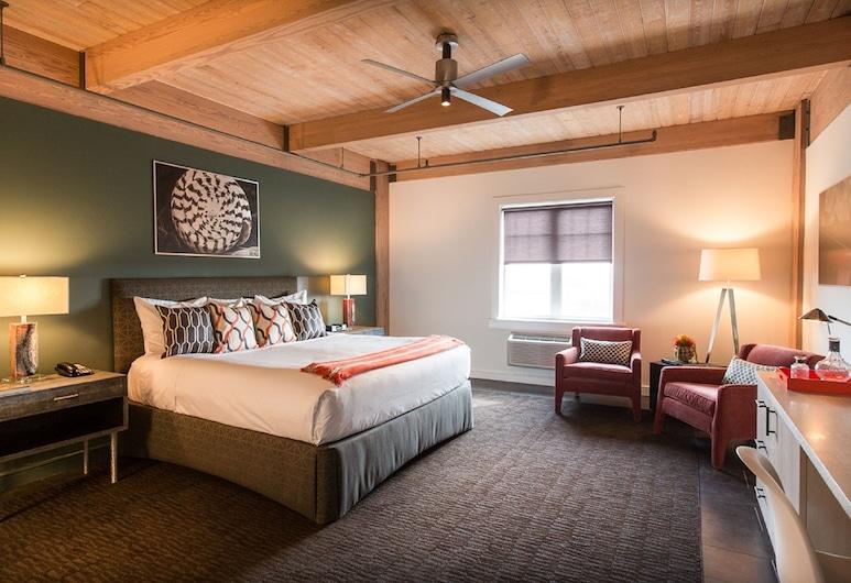 Harbor House at Pier 21, גלווסטון, חדר, מיטת קינג, ללא עישון, נוף לנמל, חדר אורחים