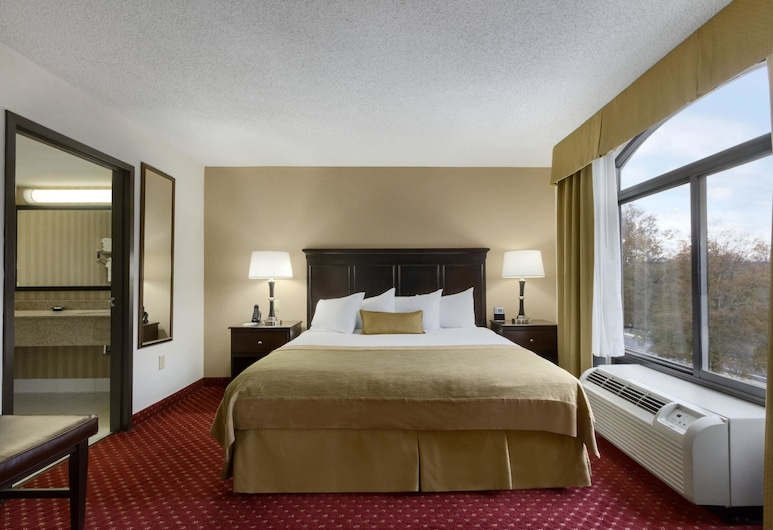 Wingate by Wyndham Charlotte Airport South/ I-77 Tyvola Road, Charlotte, Suite, 1 soverom, ikke-røyk (1 King Bed), Gjesterom
