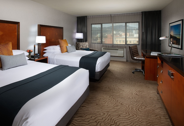 The Paramount Hotel, Portland, Pokoj typu Deluxe, 2 dvojlůžka (180 cm), Pokoj