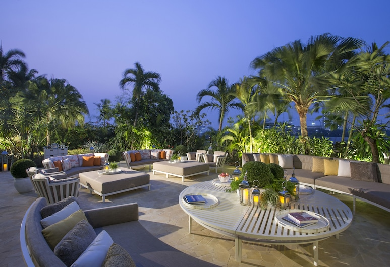 Hotel Mulia Senayan, Jakarta, Djakarta, Trädgård