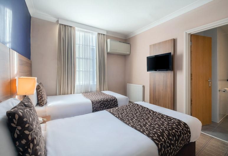 Comfort Inn Kings Cross , London, Standard Room, 2 Single Beds, Non Smoking, Guest Room