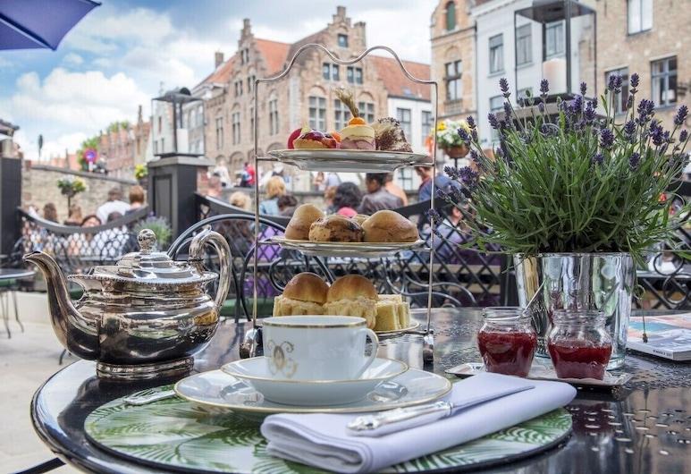 Hotel de Orangerie, Bruges, Terasz/udvar