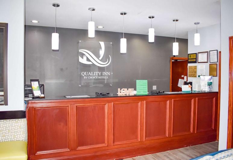 Quality Inn, Adairsville, לובי