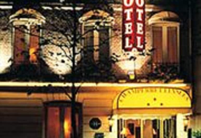 Hotel Champerret Elysees, Paris, Hotel Front – Evening/Night