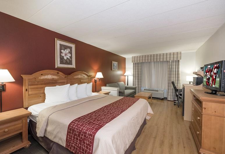 斯塔福德紅屋頂套房酒店, 斯塔福德, 高級客房, 1 張特大雙人床, 非吸煙房, 客房