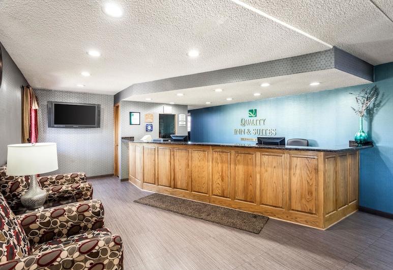 Quality Inn & Suites, Lincoln, Lobby