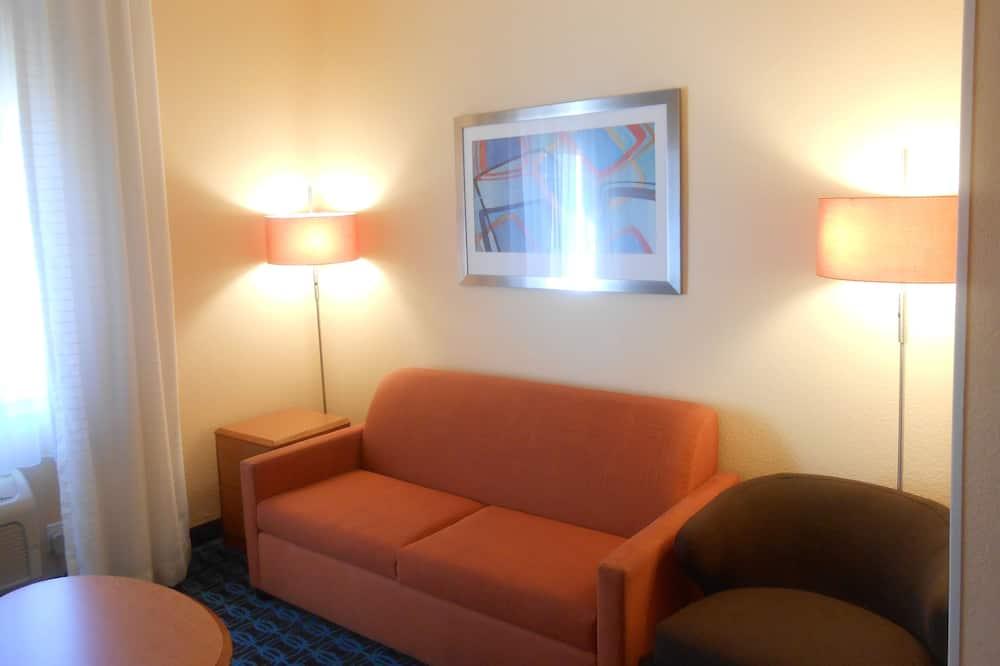 Luksusa numurs, 1 divguļamā karaļa gulta, nesmēķētājiem (Large) - Dzīvojamā istaba