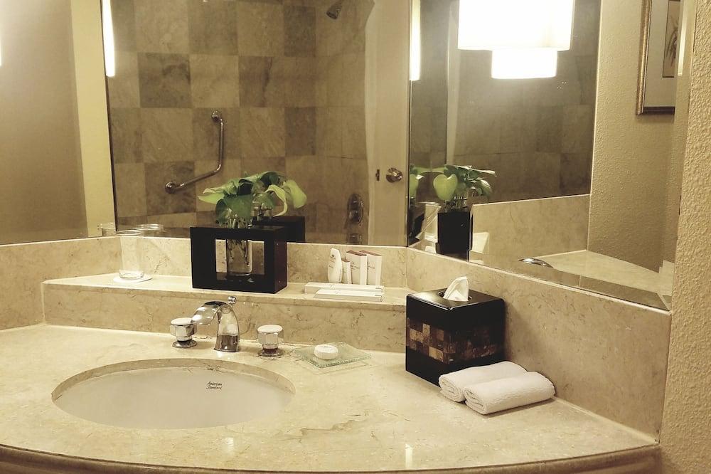 Premium Room, 1 Katil Bujang (Single), Non Smoking - Sink Bilik Mandi