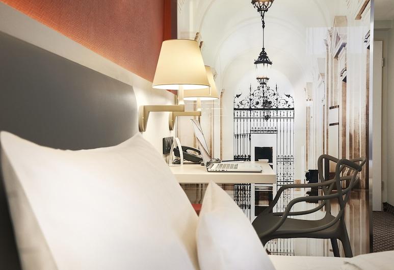 Best Western Hotel Leipzig City Center, לייפציג, סטודיו סטנדרט, מיטה זוגית, נוף לחצר, חדר אורחים