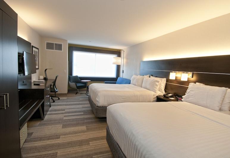 Holiday Inn Express & Suites Johnstown, Johnstown, Apartament typu Deluxe Suite, 2 łóżka queen, przystosowanie dla niepełnosprawnych (Hearing), Pokój
