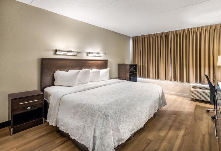 Red Roof Inn PLUS+ Boston - Woburn/ Burlington, Woburn, Premium-Zimmer, 1King-Bett, barrierefrei (Upgraded Bedding & Snack, Smoke Free), Zimmer