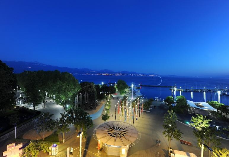 Hotel Aulac, Lausanne, Jazero