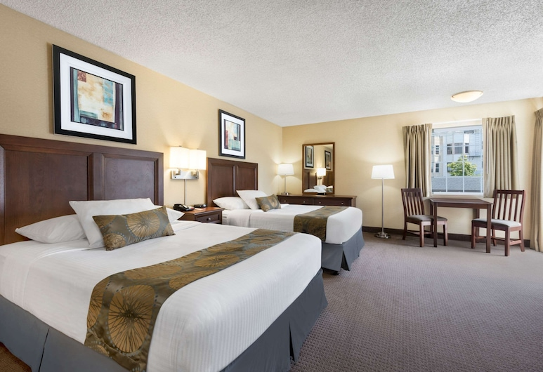 Travelodge by Wyndham San Francisco Bay, San Francisco, Studio Suite, Multiple Beds, Non Smoking, Guest Room