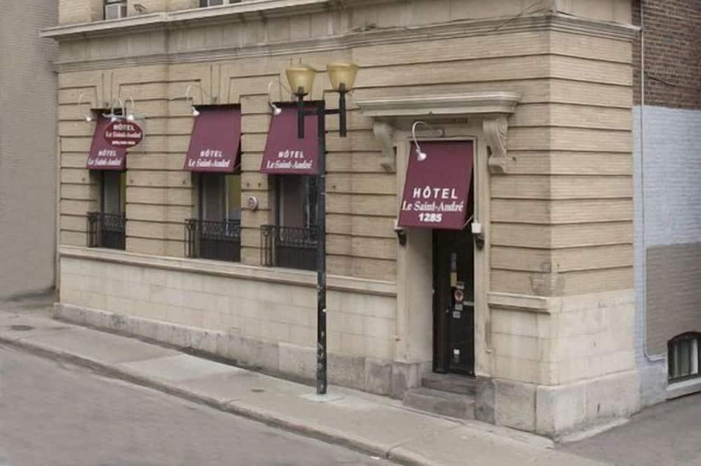 Hotellets facade