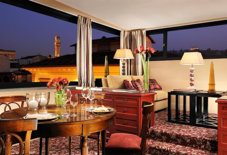 Helvetia & Bristol Firenze – Starhotels Collezione, Florenz, Panoramic-Suite, Zimmer