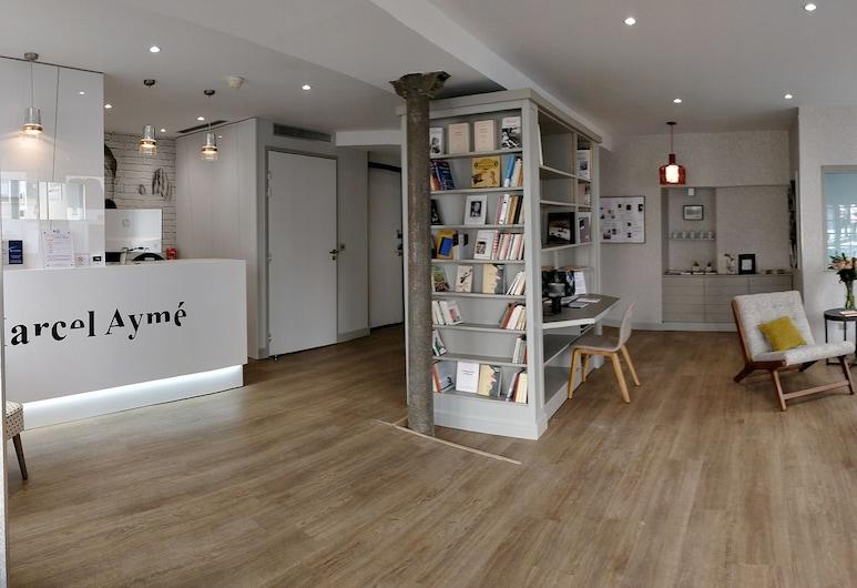 Best Western Plus Hotel Litteraire Marcel Ayme , Paris, Sitteområde i lobbyen