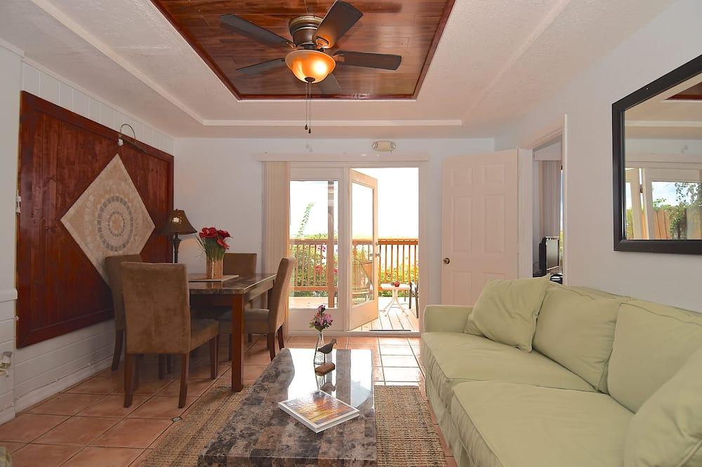 Cottage, Hot Tub, Bay View (Montego Bay Room) - Living Area