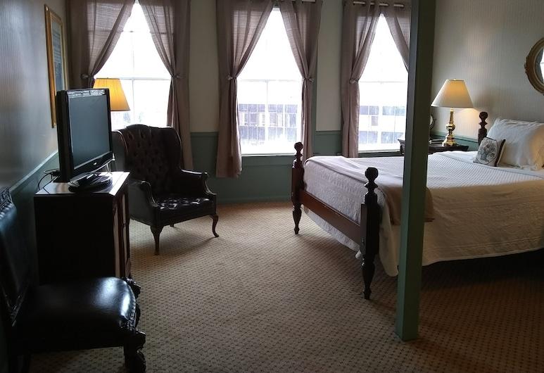 The Charles Inn at Vacationland Inns, Bangor, Jednolůžkový pokoj typu Senior, dvojlůžko (200 cm), nekuřácký, výhled na město, Pokoj