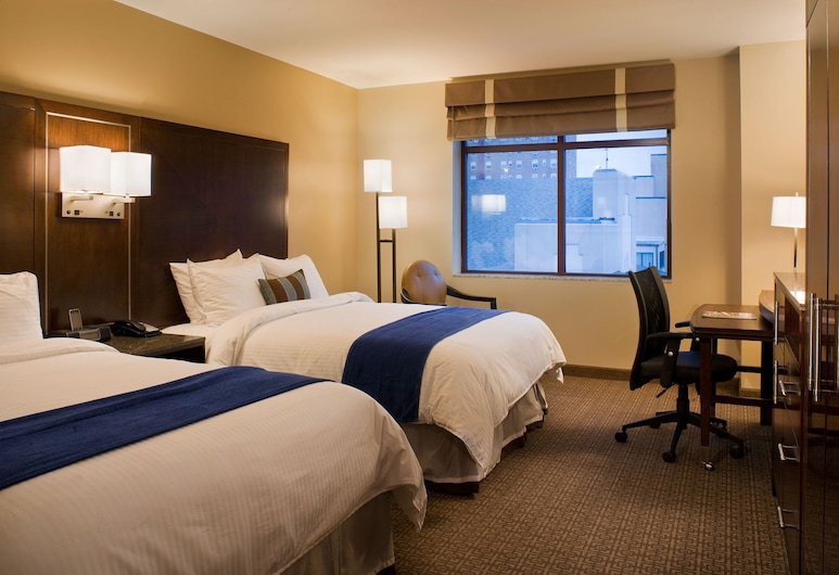 New Haven Hotel, New Haven, Standardzimmer, 2 Queen-Betten, Zimmer