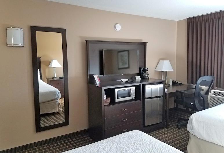 Americas Best Value Inn & Suites Bismarck, Bismarck, Executive, Two Queen Beds, Non-Smoking, Guest Room