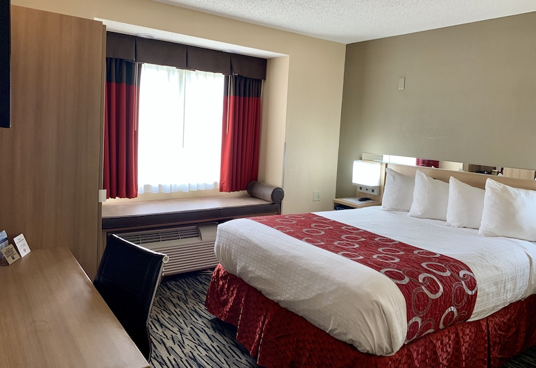 西維吉尼亞查爾斯頓溫德姆麥克洛特套房飯店, 南查爾斯頓, 標準客房, 1 張加大雙人床, 客房