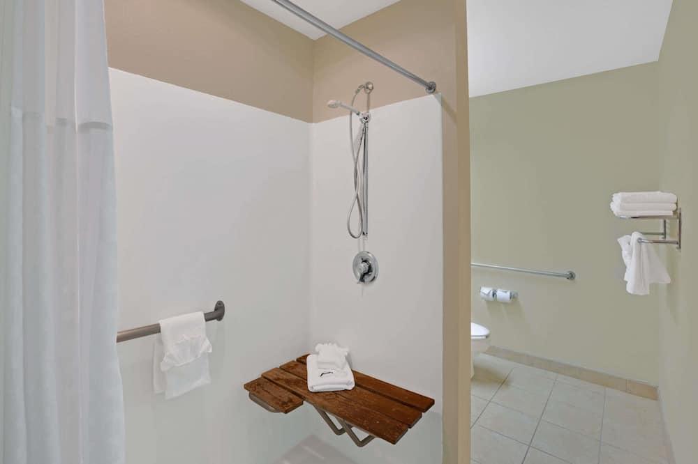 Kambarys, su patogumais neįgaliesiems - Vonios kambarys