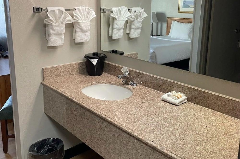 豪華客房, 2 張標準雙人床, 非吸煙房 - 浴室洗手台