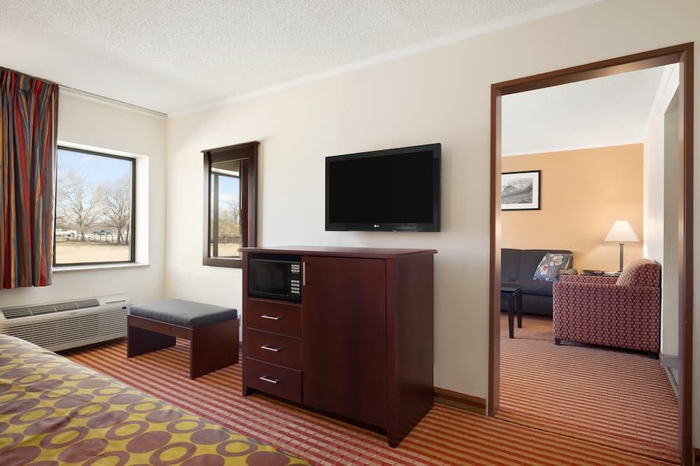 Suite, 1King-Bett, Nichtraucher - Wohnbereich