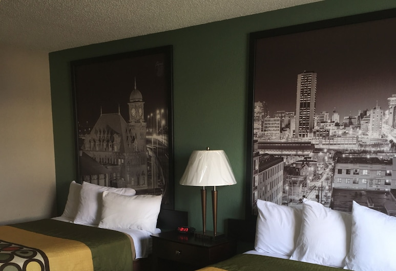 Super 8 by Wyndham Richmond Midlothian Turnpike, Richmond, Pokój, 2 łóżka podwójne, dla niepalących, Pokój