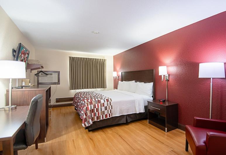 卡麥隆紅屋頂酒店, 金馬崙, 豪華客房, 1 張特大雙人床, 吸煙房, 客房