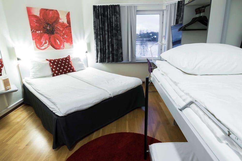 Familjerum - 1 queensize-säng - icke-rökare (Bunk beds) - Barnrum