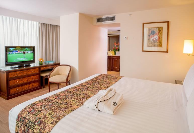 Hotel Estelar Miraflores, Lima, Junior Suite, 1 king size krevet, za nepušače, Soba za goste