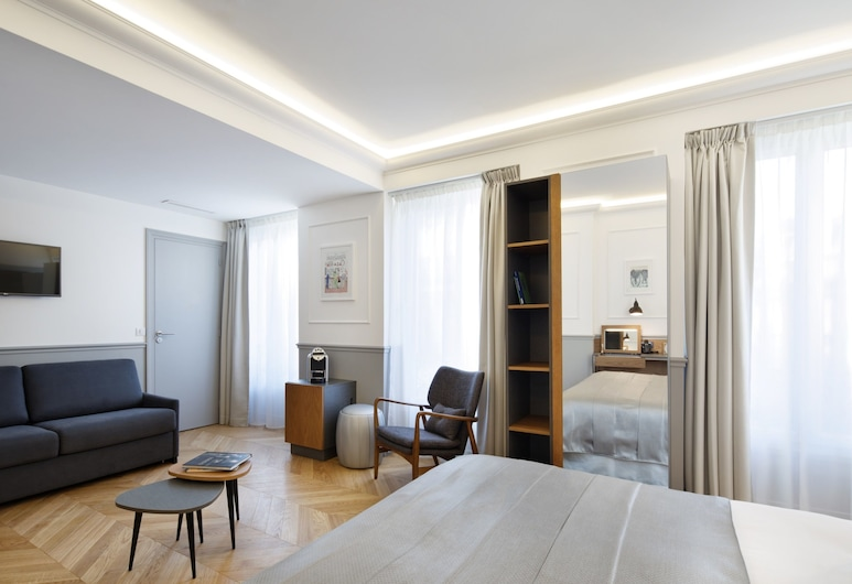 Hôtel Villa Lafayette Paris IX, Paryż, Pokój rodzinny, Pokój