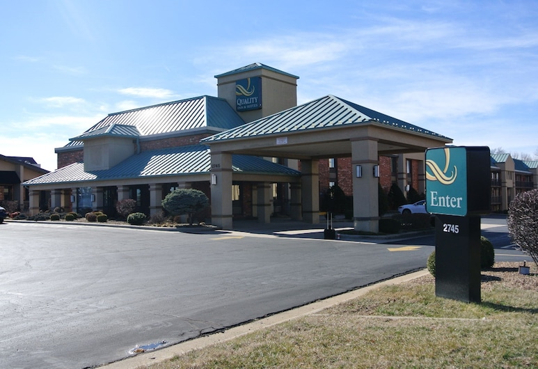 Quality Inn and Suites, Springfield, Fassaad